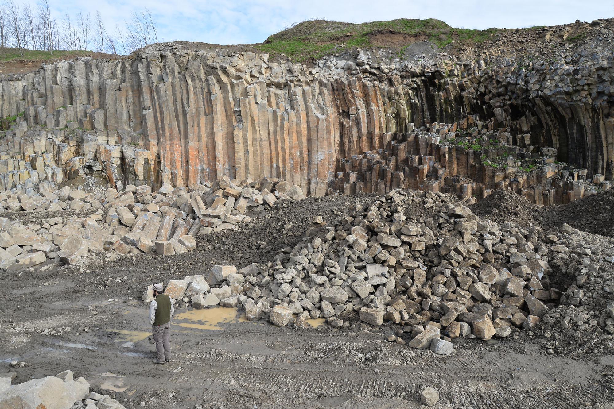 Basalt quarry 8307