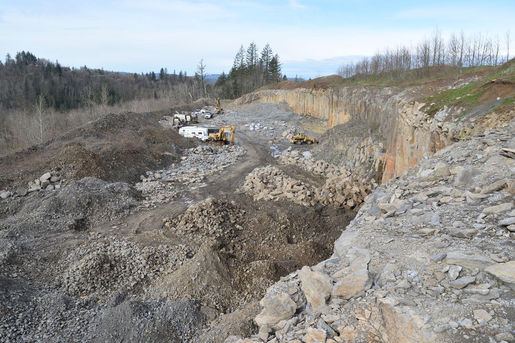 Basalt quarry 8311