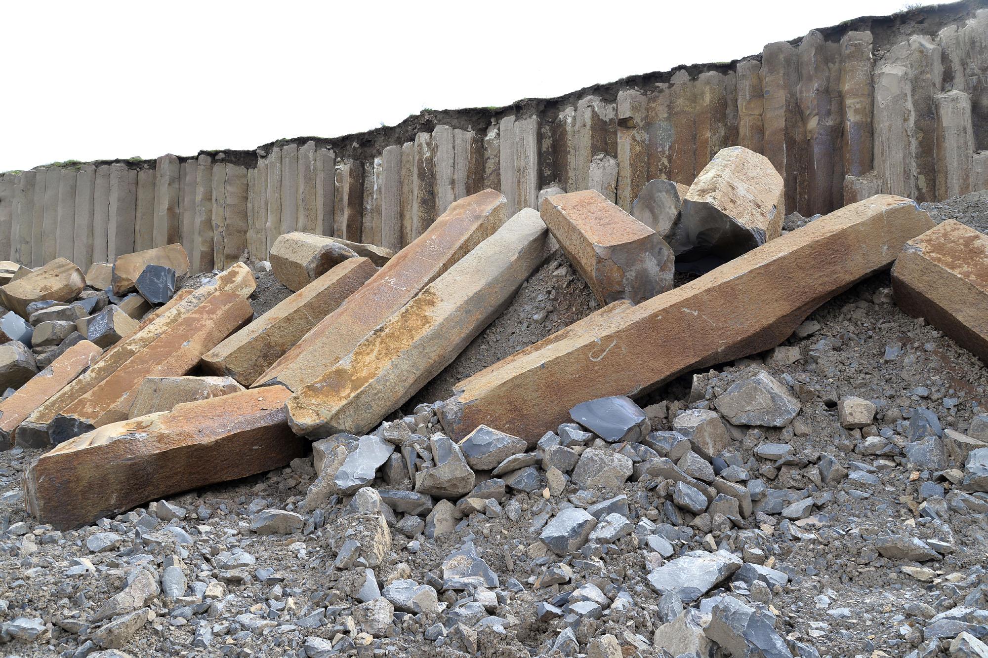 Basalt quarry 8403