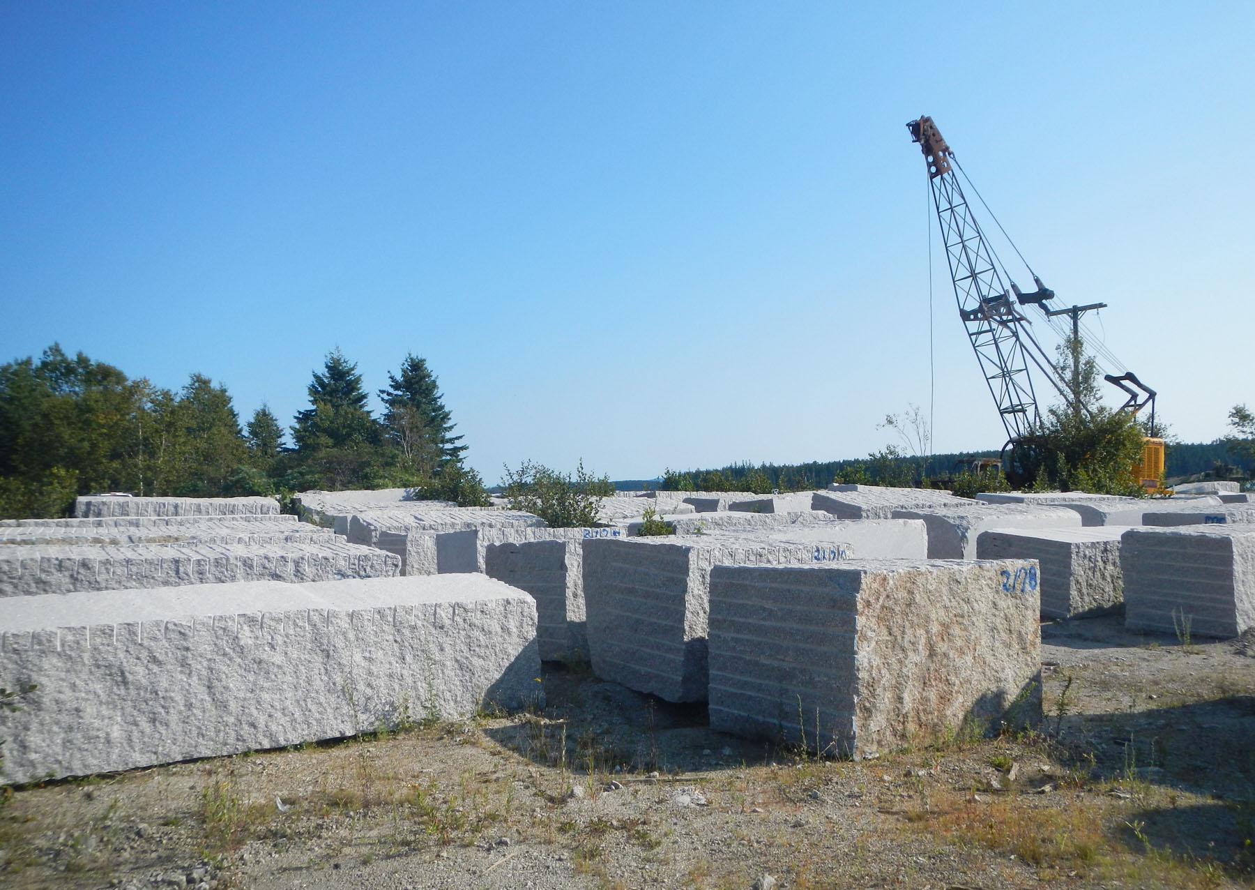 Granite quarry 16207