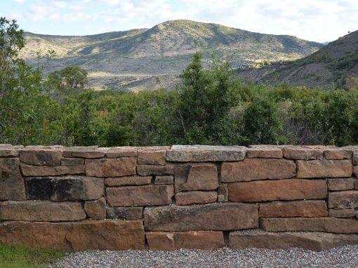 Prairie Fieldstone Dry Stack