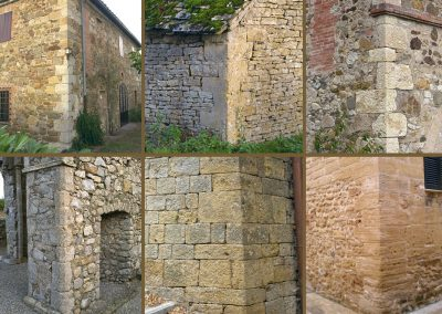 Quoins in Italy, England, and Ireland