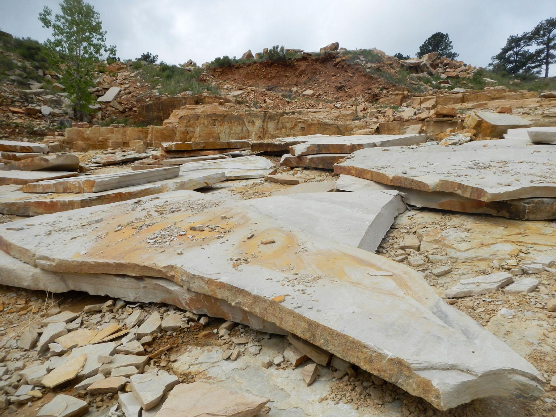 Sandstone quarry 3784