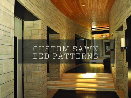 Custom Sawn Bed Patterns