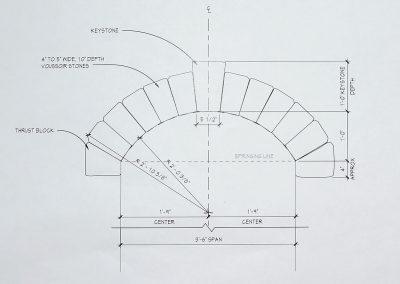 Window arch 8745