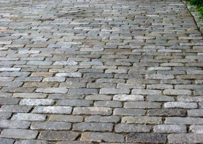 Reclaimed cobblestones 0974