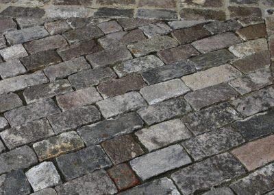 Reclaimed cobblestones 1414