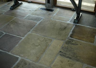 Antique Yorkshire Flagstone 0550