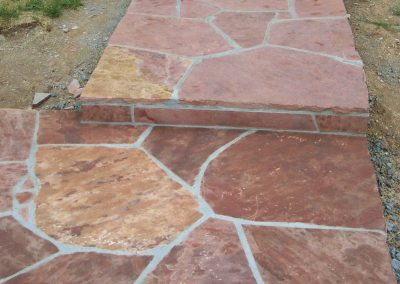 Colorado Red flagstone 0010