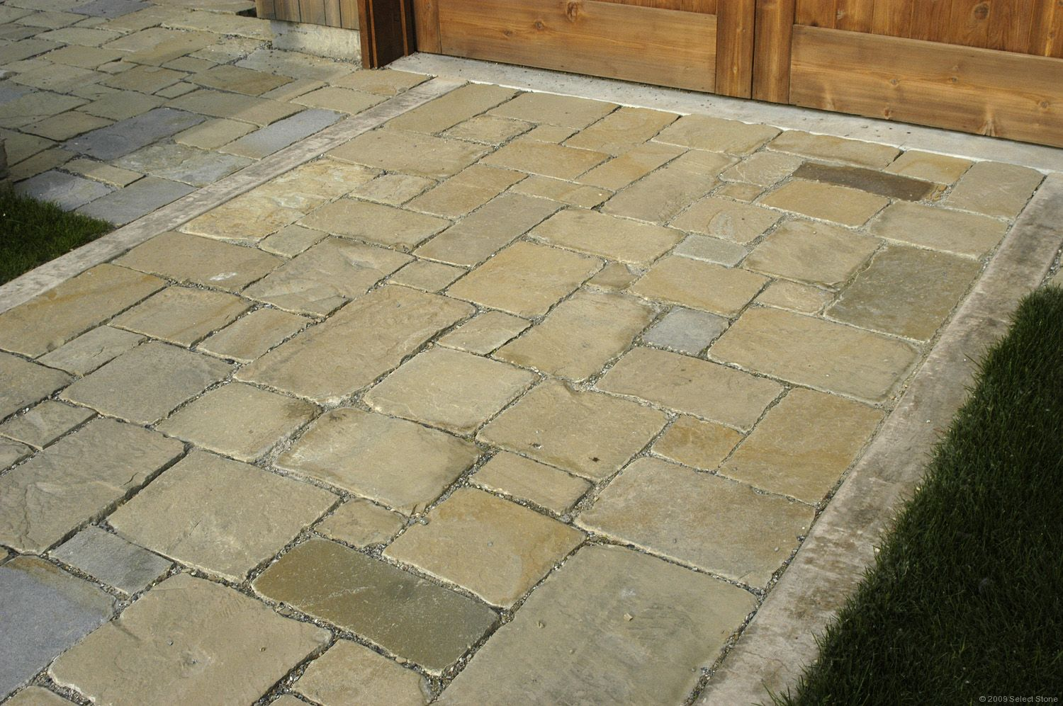 frontier chopped pavers