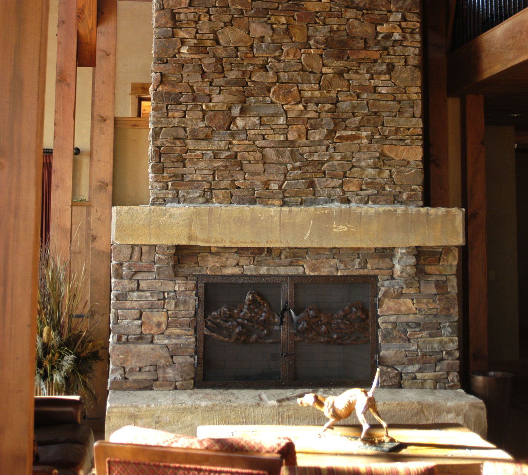 Frontier slabs select stone Decorative hearth