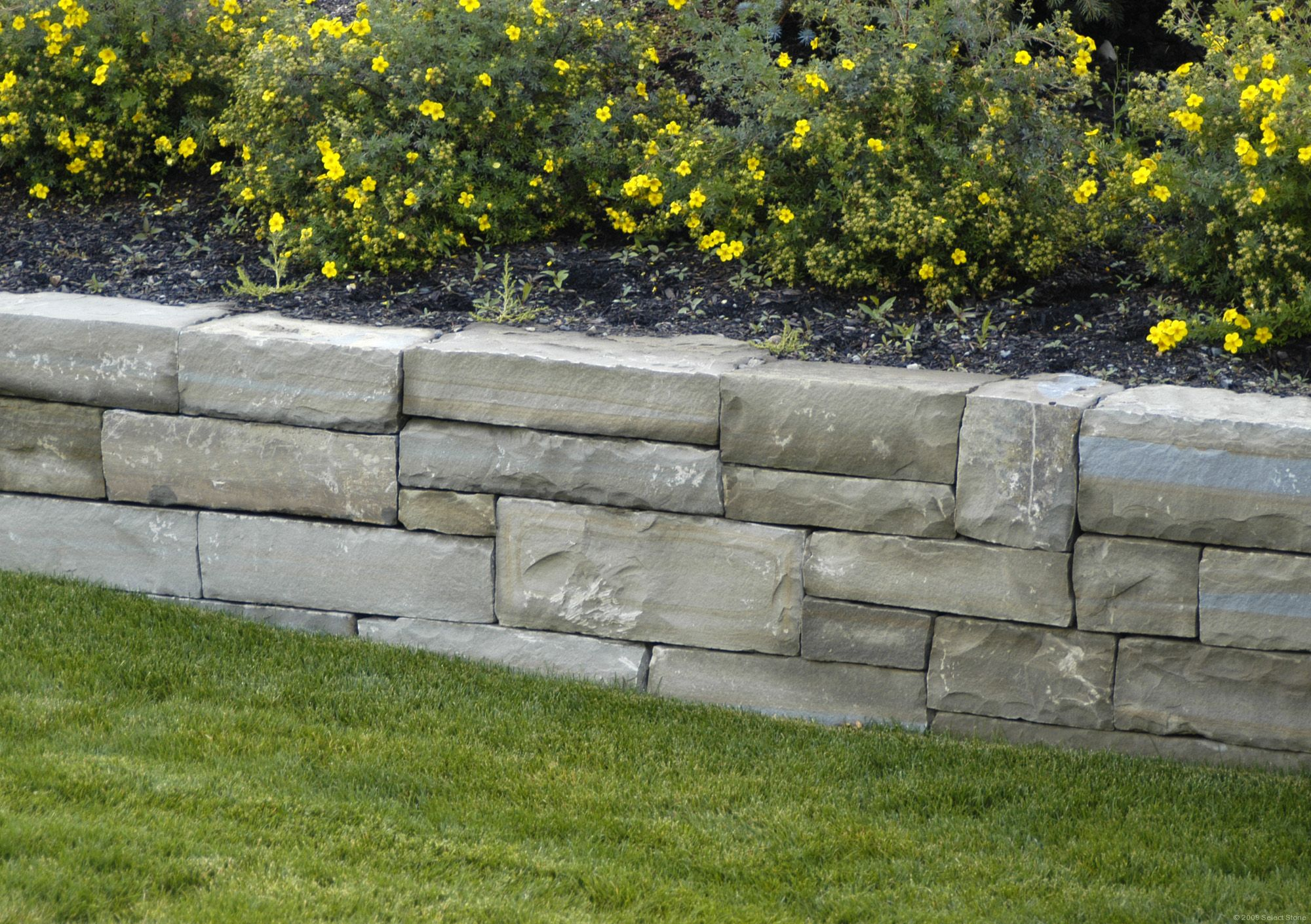 Frontier dry stack select stone for Landscape blocks