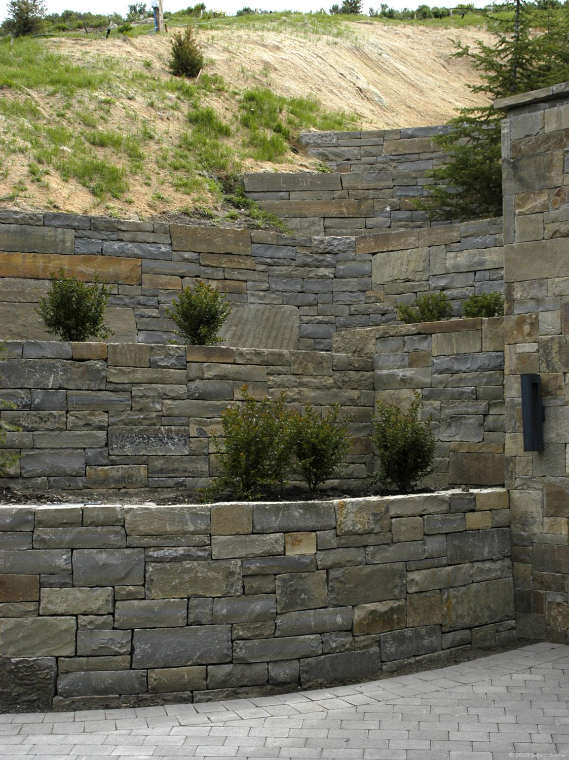 Stone Wall Construction : Frontier dry stack select stone
