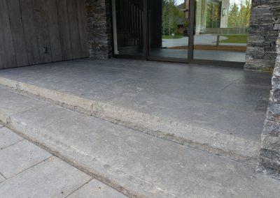 Tuxedo Gray stair treads 7626