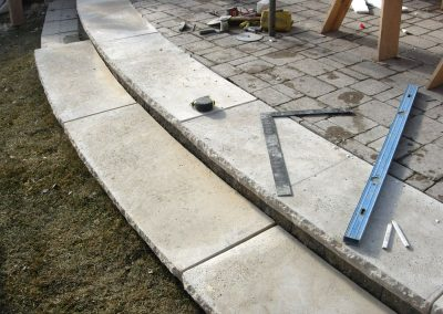 Glen Rose sawn treads 5703