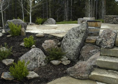 Pipestone Granite boulder 0528