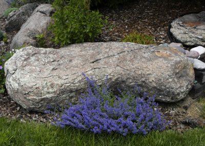 Pipestone Granite boulder 0725