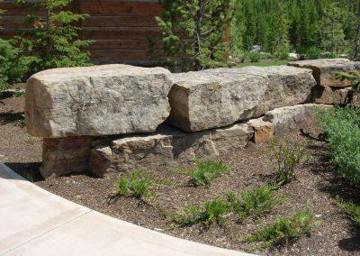 Prairie Fieldstone boulders 4987