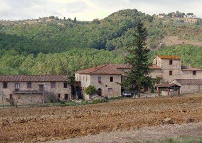 A villa in Chianti.