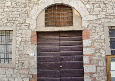A doorway in Volterra.