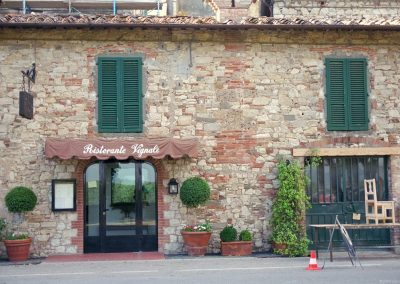 A building in Chianti.