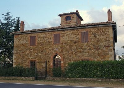 A country villa near Siena.