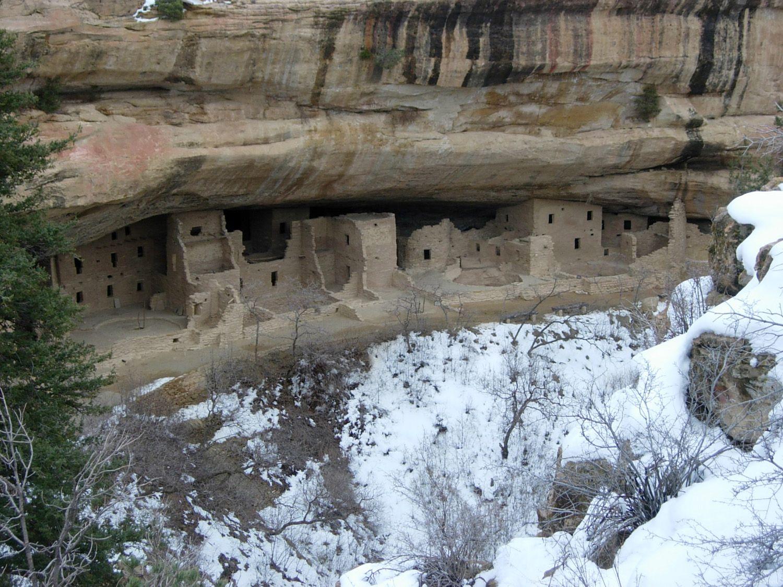 Mesa Verde Sandstone Rock Mortar : Anasazi ruins select stone