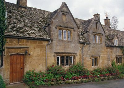 Houses in Chipping Campden.