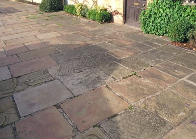 Yorkshire flagstones in Chipping Campden.