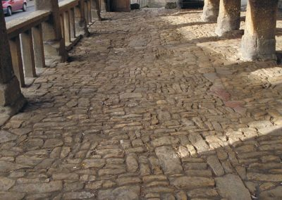 Ancient paving in Chipping Campden.