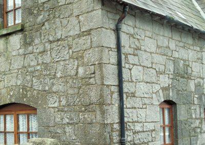 Limestone buildng near the Rock of Cashel.