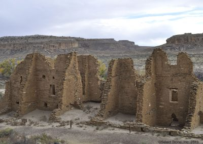 Kin Kletso is a smaller Great House in Chaco Canyon.