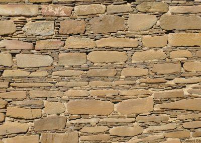 The masonry style at Pueblo Bonito in Chaco Canyon, New Mexico.
