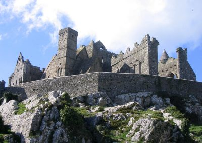The famous Rock of Cashel in County Tipperary.