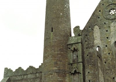 The round tower at the Rock of Cashel.