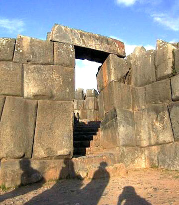 The fortress was hewn from granite blocks to protect the city from marauding tribes.