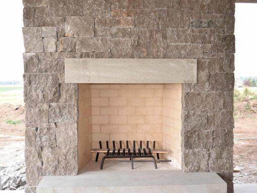 Pewter Limestone Thin Veneer