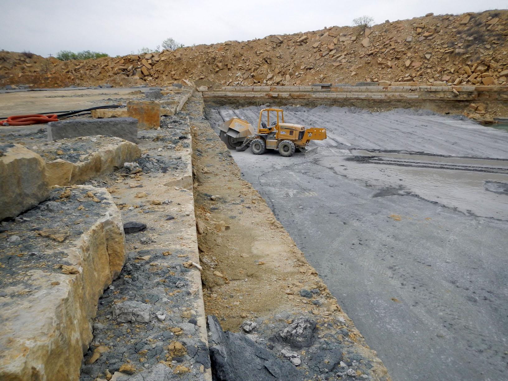 Limestone quarry 17969