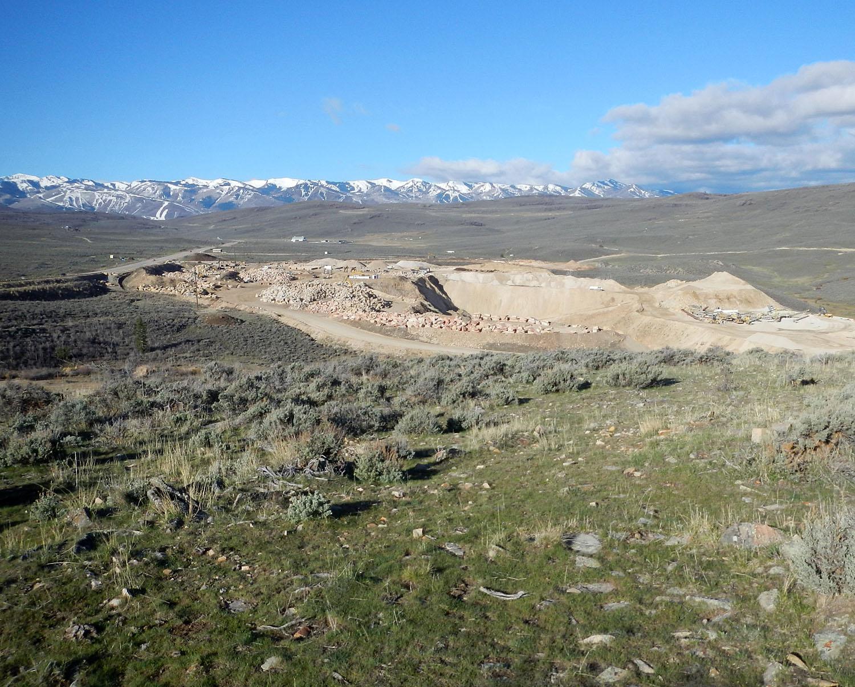 Sandstone quarry 17811