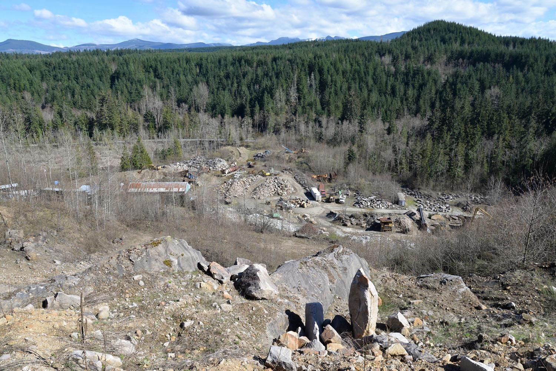 Sandstone quarry 8212