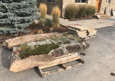 Moss Rock slabs 1163