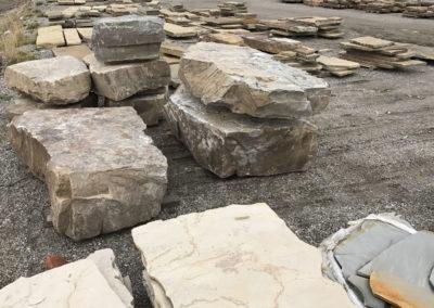 Oversize Deep Creek boulders 1119