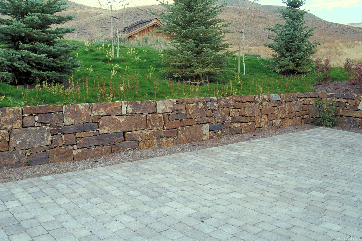 Mission Springs Sandstone Dry Stack Select Stone